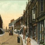 Stamford New Rd postcard c.1913 (Altrincham Image Archive)
