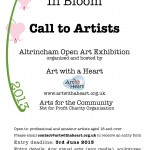 Altrincham Open Art Exhibition Call to Artists