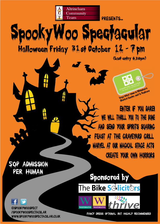 SpookyWoo A4 poster 2014