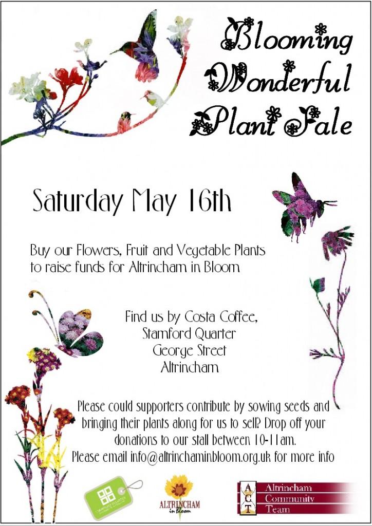 bloomingplantsaleposter