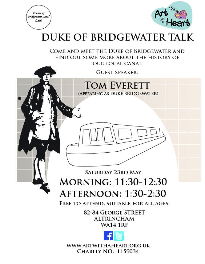 Duke of Bridge water poster